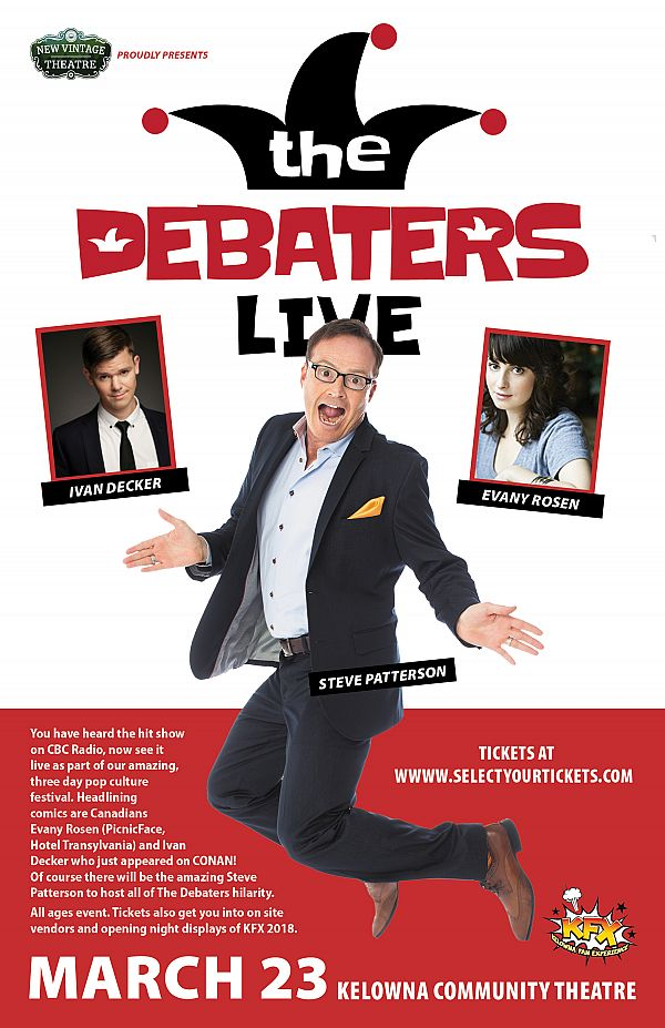 KFX Welcomes The Debaters Live! March 23rd